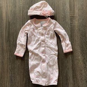 Carter's Newborn Bodysuit and Hat